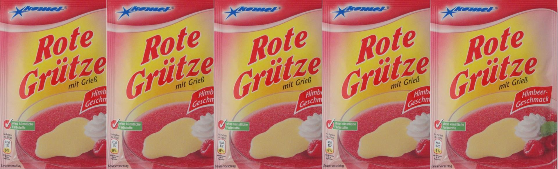 Rote >> Rote Grütze mit Grieß, Grießspeise, Pudding 5x - einfach lecker